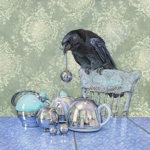 'Crow Collects' by Cori Lee Marvin.