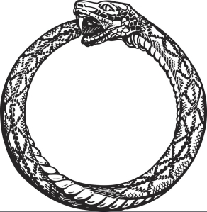 ouroboros-snake-eating-its-own-tail-eternity-or-vector-12076546